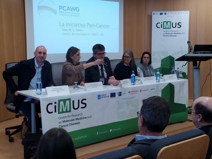 Presentación do estudo do CIMUS sobre o xenoma do cancro / Europa Press
