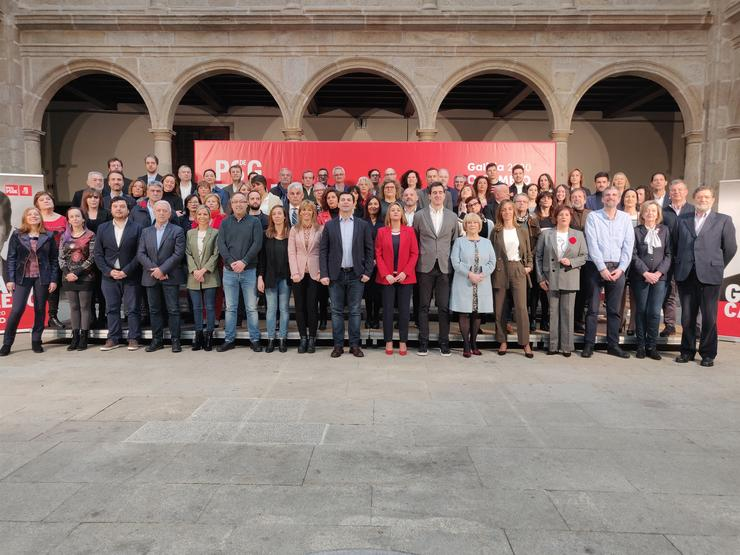 Presentación candidaturas do PSdeG en Santiago / Europa Press