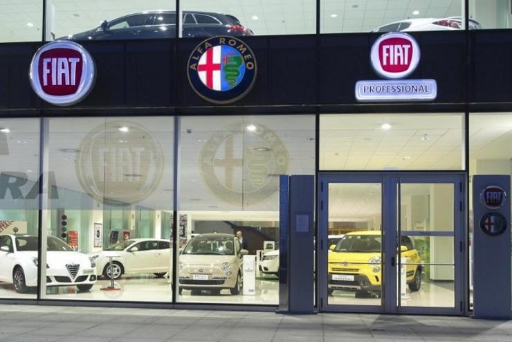 Concesionario do grupo Fiat. FACONAUTO - Arquivo / Europa Press