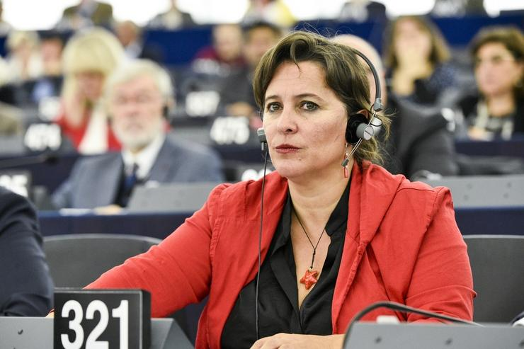 Ana Miranda nun pleno do Parlamento Europeo. EUROPA PRESS - Arquivo / Europa Press