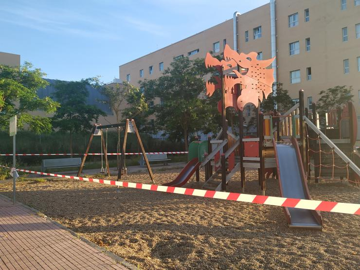 Parque infantil. EUROPA PRESS - Arquivo / Europa Press
