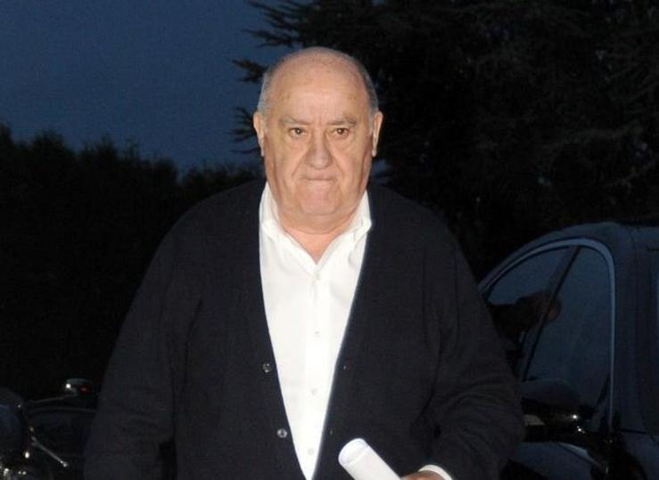 Amancio Ortega. EUROPA PRESS - Arquivo / Europa Press