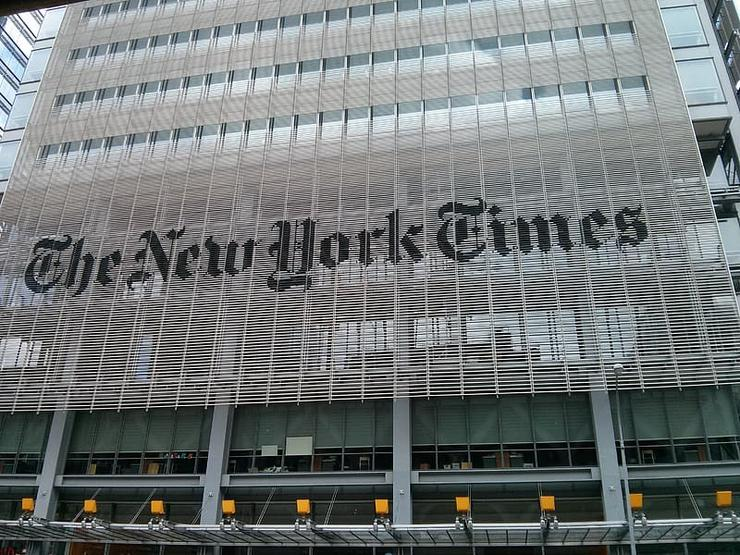Fachada do New York Times/Pikrepo
