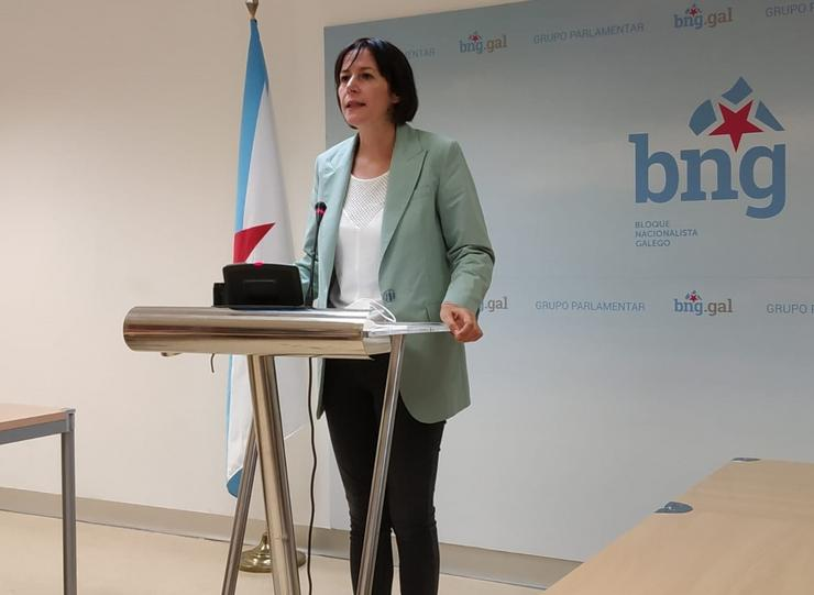 Ana Pontón, líder do BNG.. EUROPA PRESS - Arquivo / Europa Press