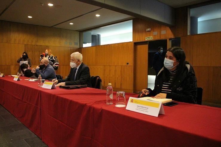 Reunión de sindicatos agrarios galegos con Luís Planas. SINDICATO LABREGO