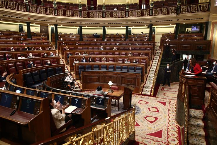 Imaxe do hemiciclo do Congreso. EUROPA PRESS/E. Parra. POOL - Europa Press / Europa Press