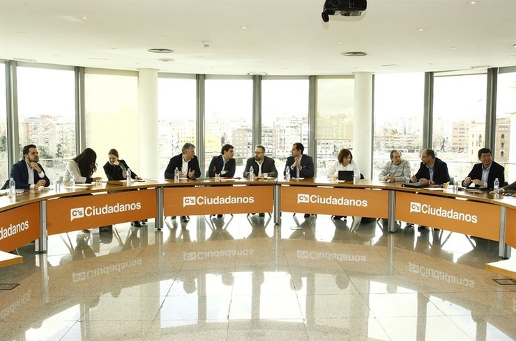 Reunión da executiva de Ciudadanos en Madrid / Europa Press.