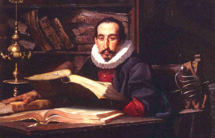 Debuxo de Miguel de Cervantes