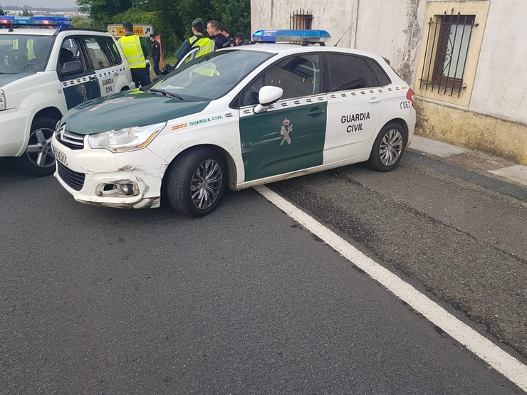 Dispositivo tras un atraco / Guardia Civil