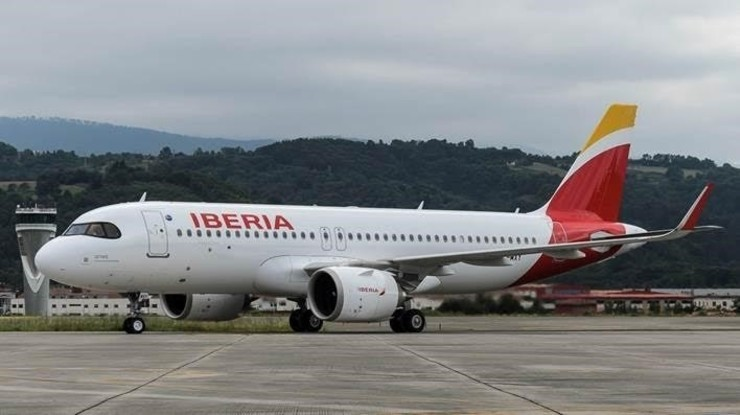 Avión de Iberia. IBERIA - Archivo / Europa Press