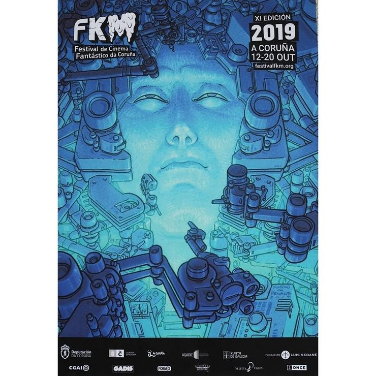 Cartel do FKM A Coruña 2019. FKM / Europa Press