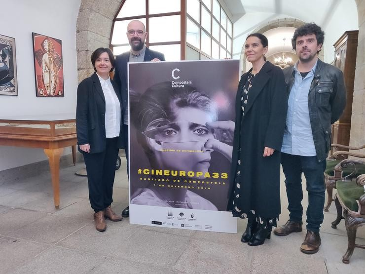 Presentación da 33 edición do festival Cineuropa de Santiago / Europa Press