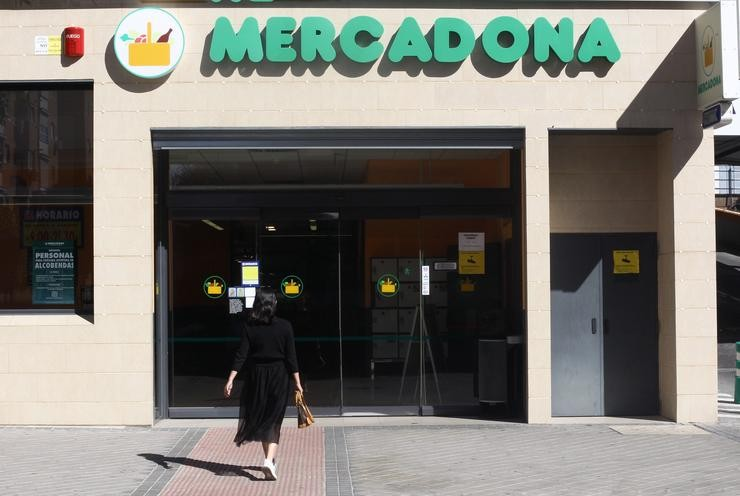 Imaxe dun supermercado Mercadona en Madrid.. Eduardo Parra - Europa Press - Arquivo / Europa Press