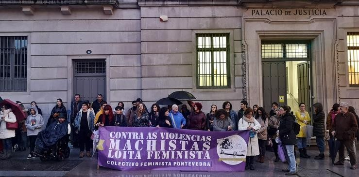 Concentración feminista ante a Audiencia Nacional / Europa Press