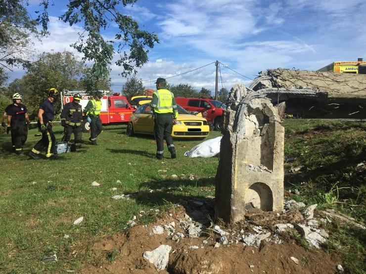Tres mortos nun accidente de tráfico en Valdoviño   GC / Europa Press