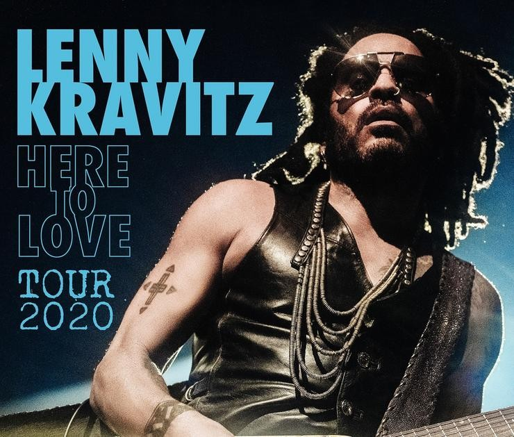 Lenny Kravitz anuncia xira mundial con parada en Madrid. LIVE NATION / Europa Press