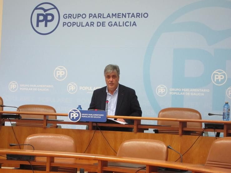 Portavoz parlamentario do PPdeG, Pedro Puy. / Europa Press