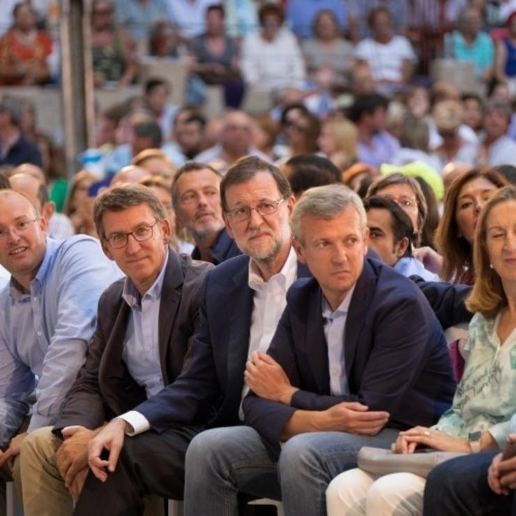28A.- Mariano Rajoy Arroupará O Venres 12 A Ana Pastor Nun Acto No Que O. PARTIDO POPULAR / Europa Press