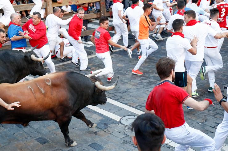 Corridas de touros no San Fermín. Óscar J.Barroso - Europa Press