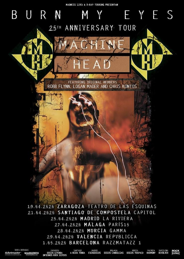 Machine Head. MADNESS LIVE / Europa Press