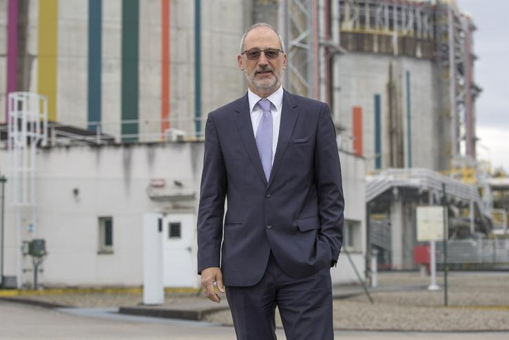 O presidente de Reganosa, Carlos Collantes. REGANOSA - Arquivo / Europa Press