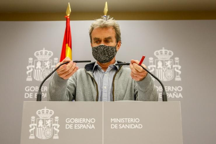 O director do Centro de Coordinación de Alertas e Emerxencias Sanitarias (CCAES), Fernando Simón /  Europa Press