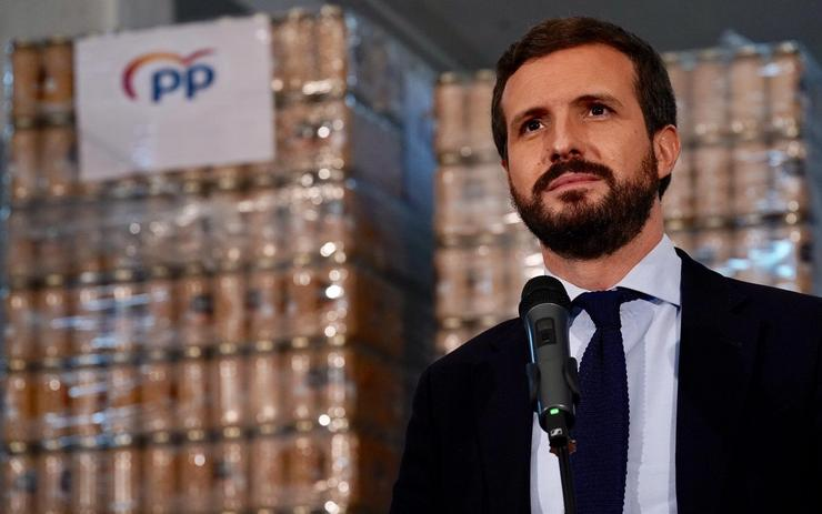 O presidente do PP, Pablo Casado/ DAVID  MUDARRA (PP)