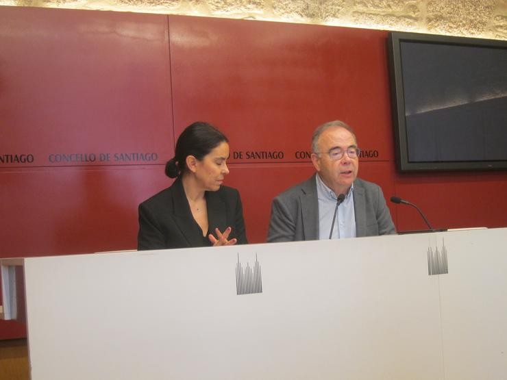 Mercedes Rosón e Xosé Antonio Sánchez Bugallo / Europa Press