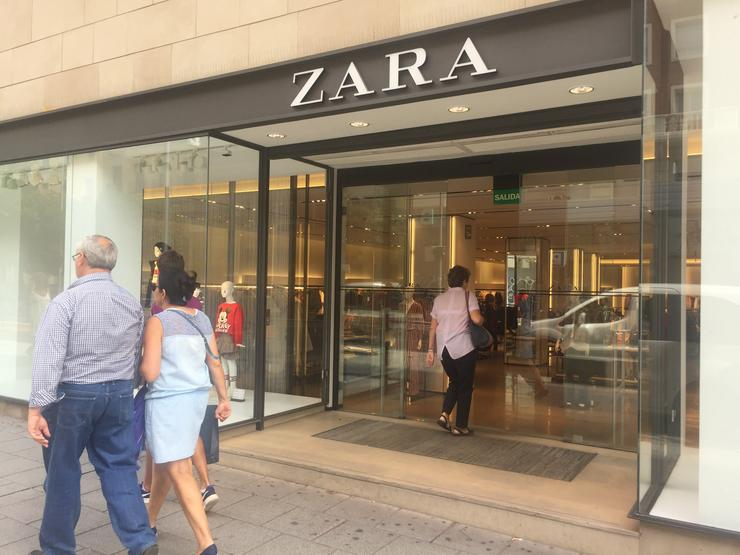 Escaparate de Zara, Inditex. EUROPA PRESS - Arquivo