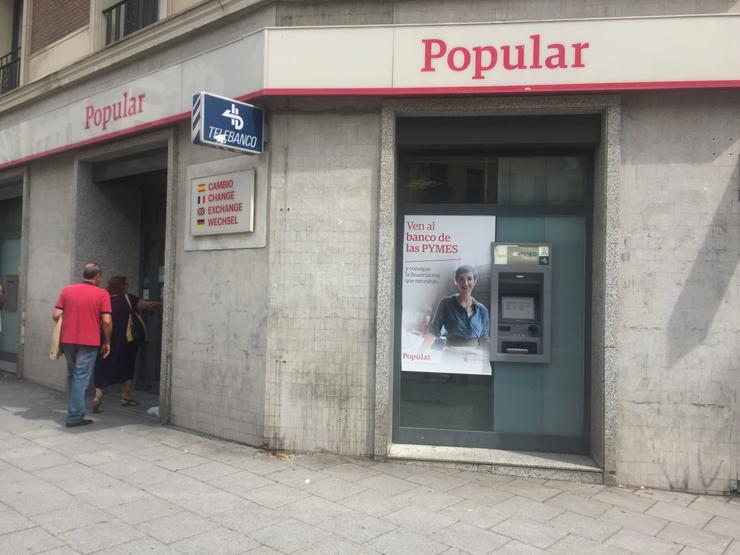 Banco Popular / EUROPA PRESS - Arquivo