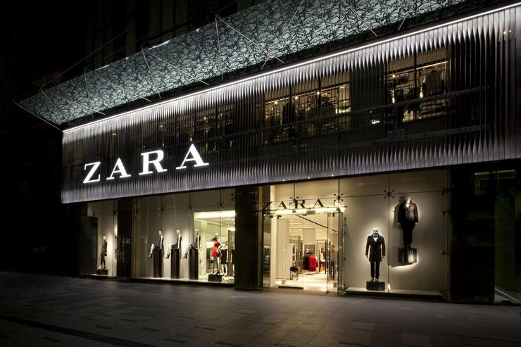 Tenda Zara. EUROPA PRESS/INDITEX - Arquivo