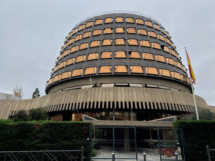 Fachada do edificio do Tribunal Constitucional de España, en Madrid a 29 de novembro de 2019.. Eduardo Parra - Europa Press - Arquivo