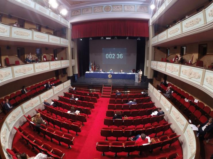 Pleno municipal en Ourense. / Europa Press