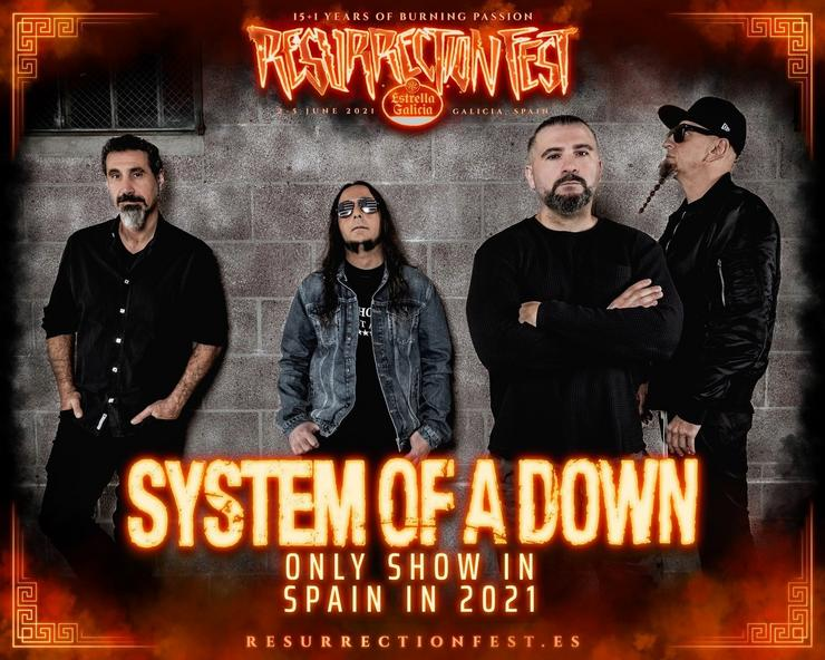 System of a down. RESURRECTION FEST / Europa Press