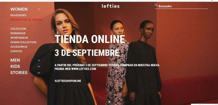 Lefties (Inditex) inicia a venda