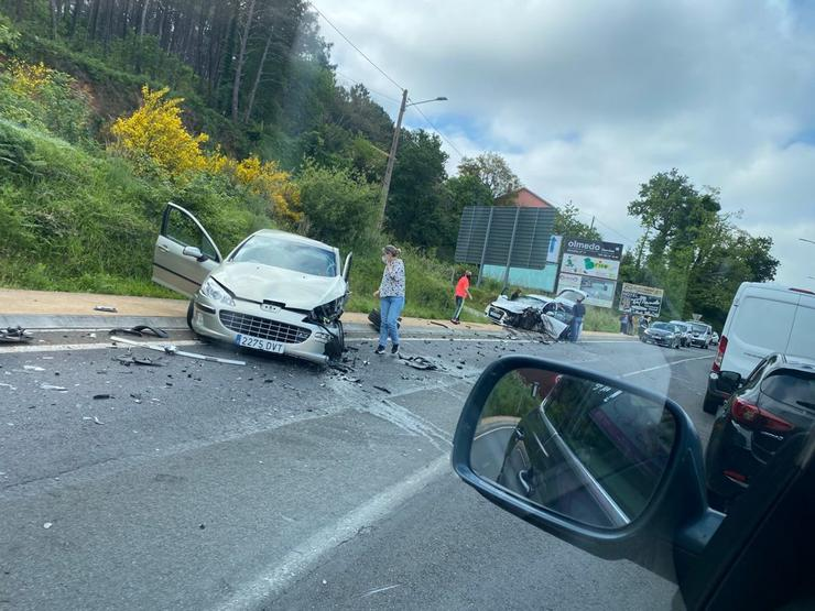 Accidente en Noia / remitida