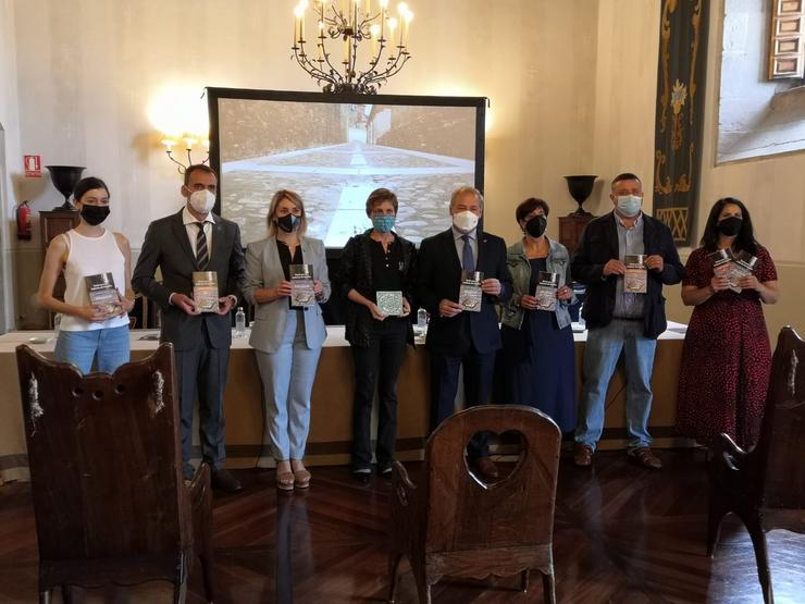 Acto de presentación das guías turísticas da Red de Juderías de España